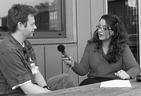 Image: Audio Interview