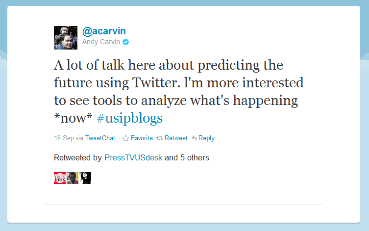 Tweet by @acarvin