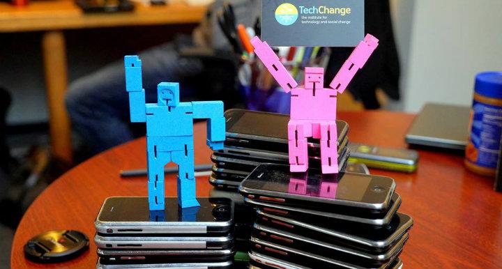 TechChange Hope Phones donation mHealth