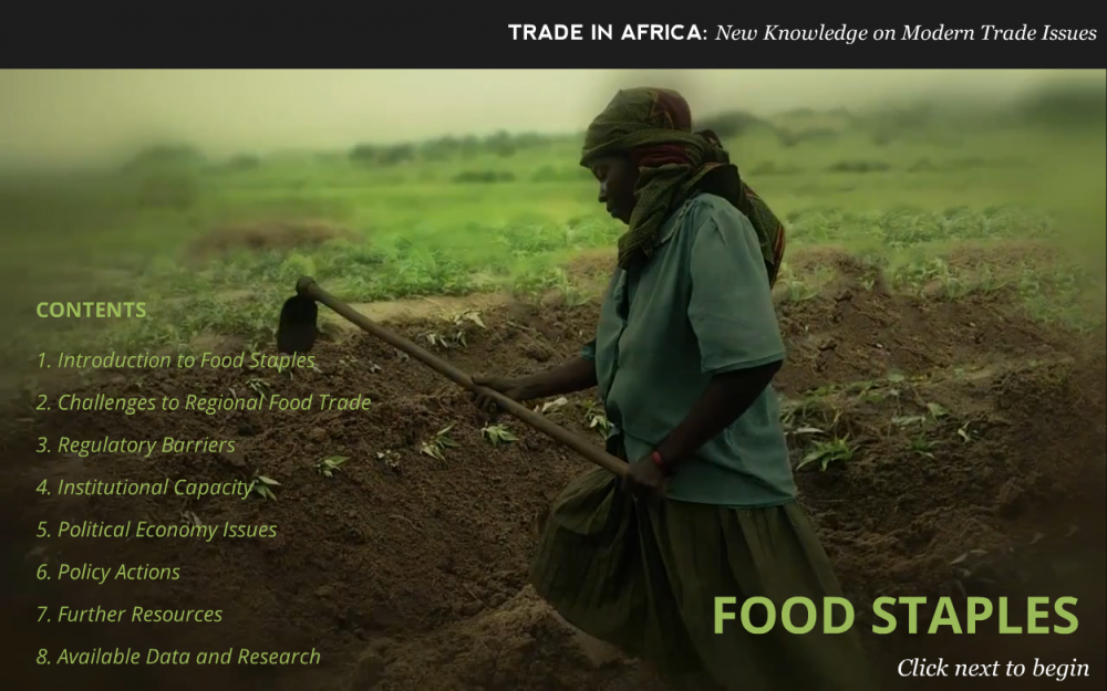 World Bank - Food Staples Title