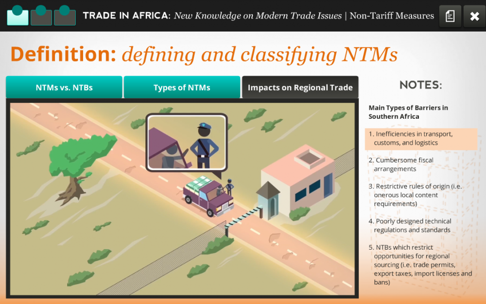 World Bank - Africa - Impacts on Regional Trade