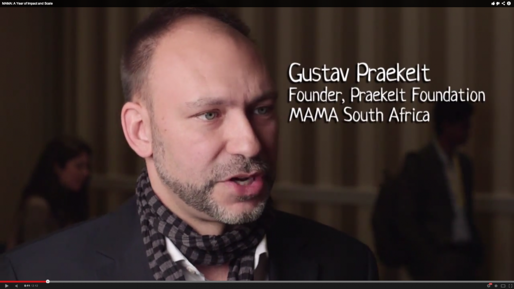MAMA - Video - Gustav Praekelt Interview