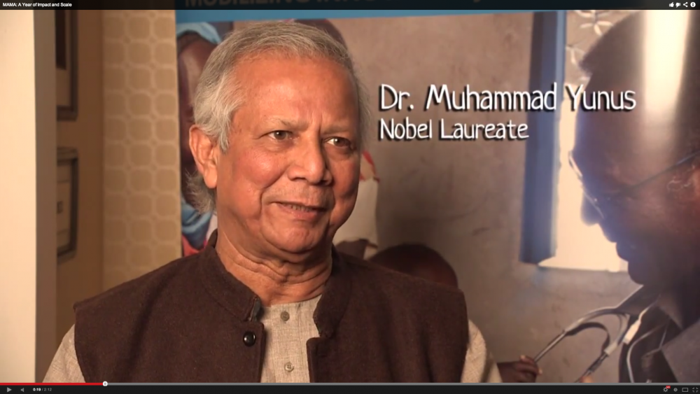 MAMA - Video - Muhammad Yunus Interview