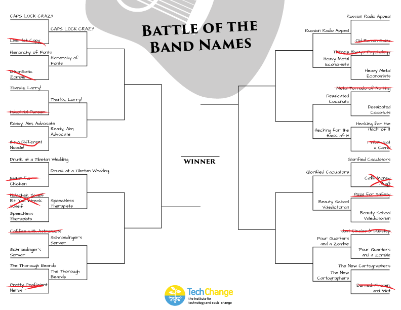Battle of the Bands - Sweet 16
