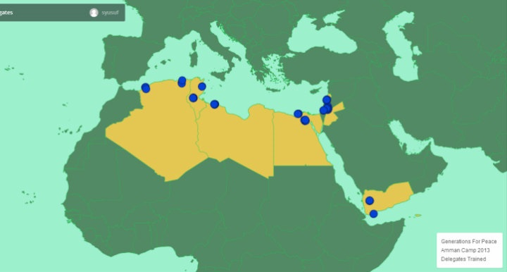 A Beginner's Guide to Digitally Mapping the Middle East via MapBox's