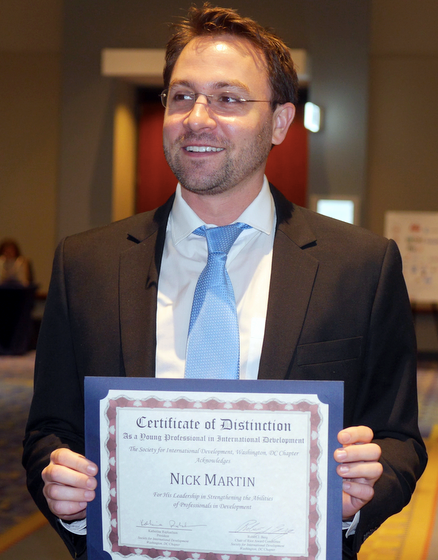 Nick Martin SID award