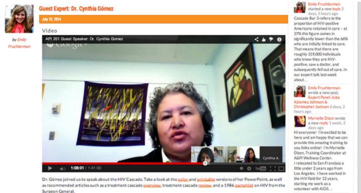 APIWC Guest Expert Dr. Cynthia Gomez