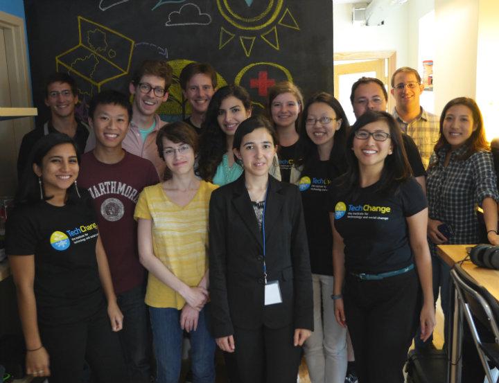 TechGirls Group photo