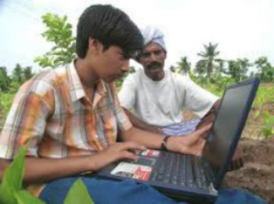 Laptop data collection in India