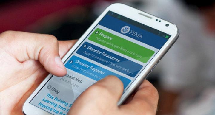FEMA mobile app