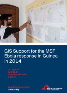 GIS Support for the MSF Ebola response in Guinea in 2014