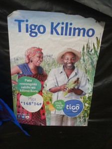 Tigo Kilimo marketing